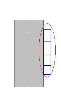 Si je suis en zone à disque le marquage est de couleur bleu.