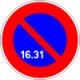 Je peux stationner du 16 au 31 du côté où est implanté le panneau.