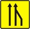 La réduction du nombre de voie: